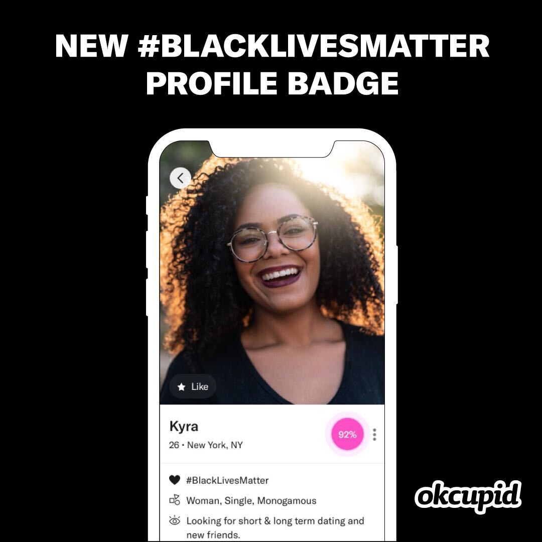 #BlackLivesMatter Badge