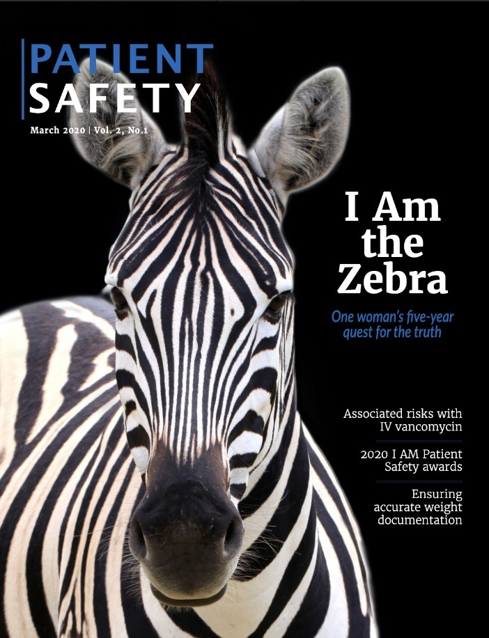 PATIENT SAFETY: A scientific journal with a patient's perspective