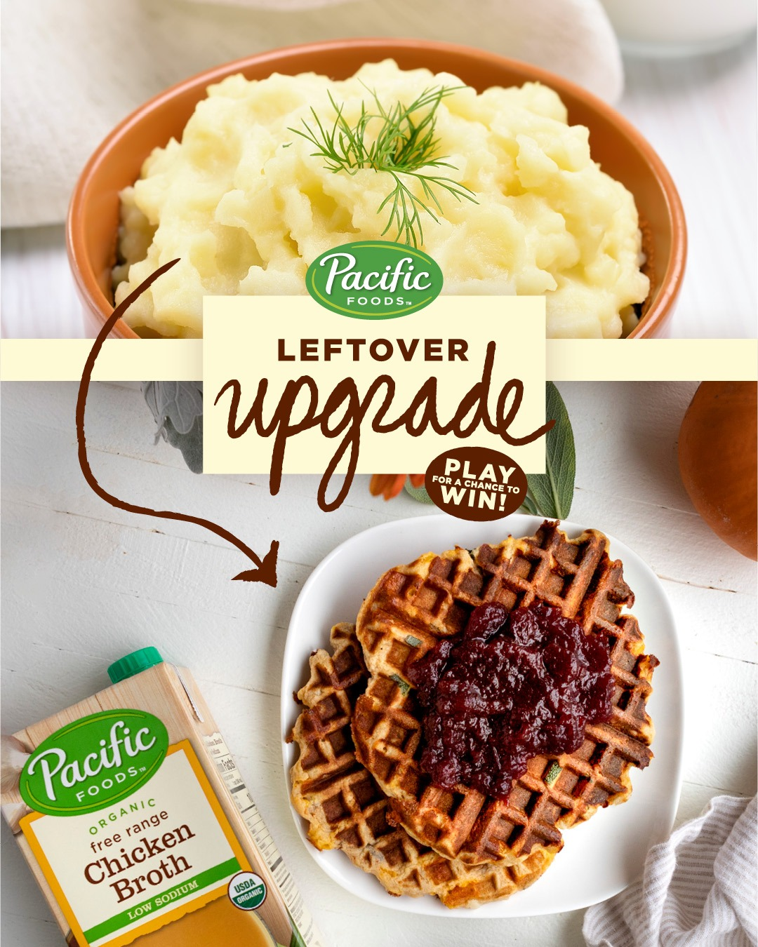 Pacific Foods' Leftover Upgrade Interactive Video Consumer Sweepstakes