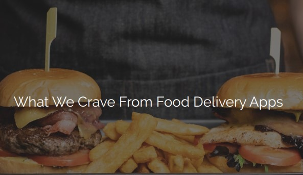 Viral Content: Food Delivery App Survey