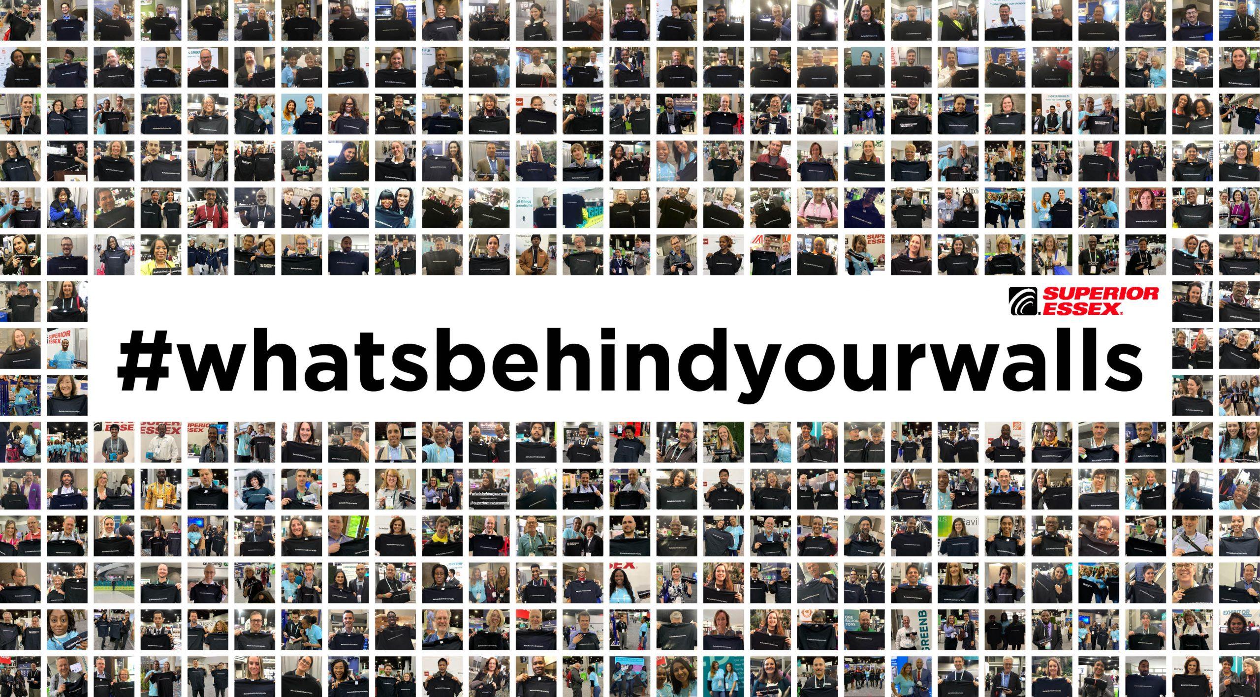 #WhatsBehindYourWalls Campaign