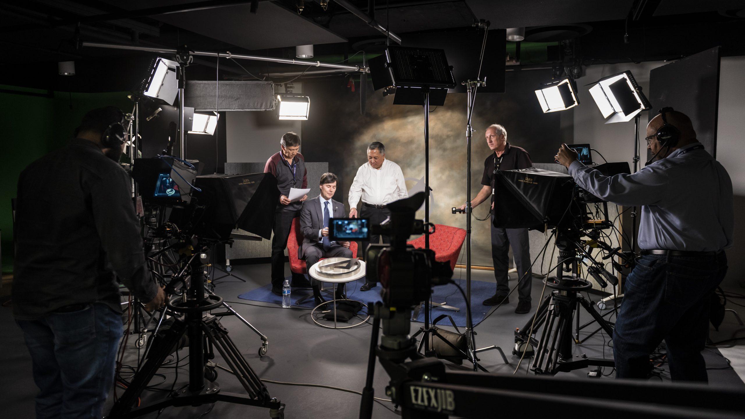 Aerospace Video Production Center Team