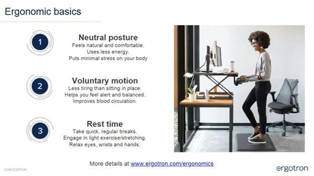 Ergonomic basics