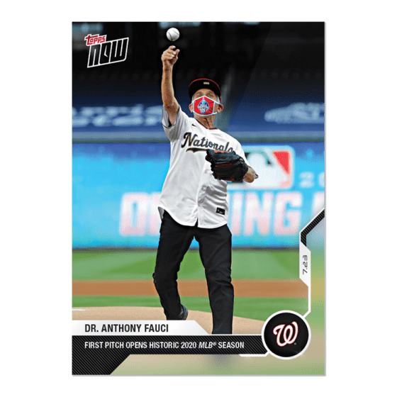 Topps NOW Celebrating News as it Happens